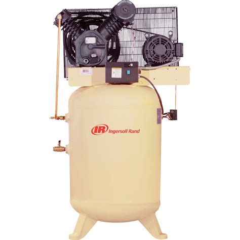 free shipping ingersoll rand type 30 reciprocating air compressor 10 hp 230 volt 3 phase