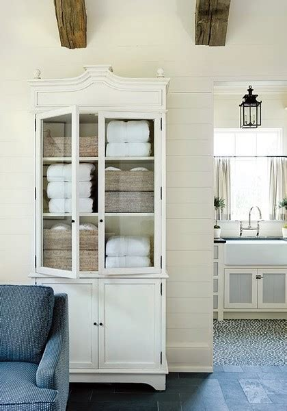 Martha Stewart Armoire by Linen Closets Toronto Interior Design Gillian Gillies