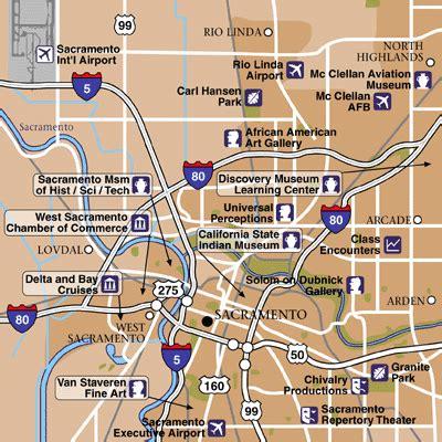 map of sacramento area sacramento international airport airport maps maps and