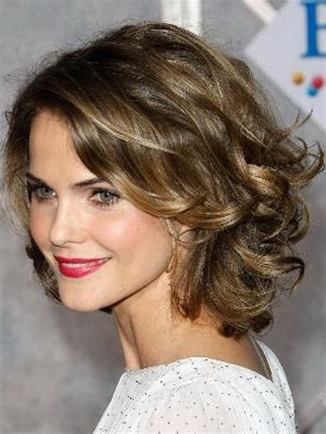 medium haircuts curly hair round face medium curly hairstyles for round faces