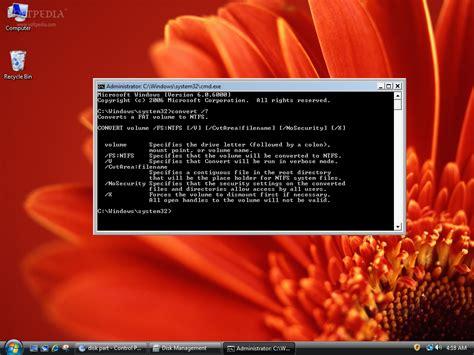 diskpart format udf advanced disks and drives management in windows vista
