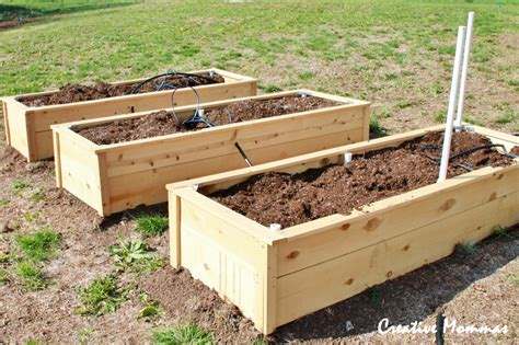 pvc raised garden beds creative mommas raised garden beds