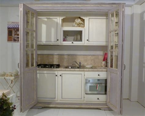 mini cucina a scomparsa mini cucine a scomparsa in stile provenzale le info sull