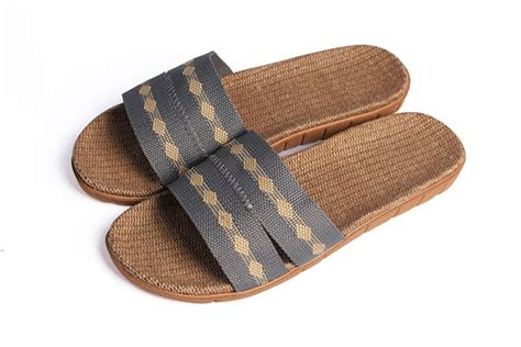 comfortable house slippers 2015 men summer indoor slipper hemp linen house shoes