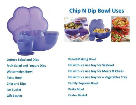 Tupperware Chip N Dip Activity 17 best images about tupperware on water melon can opener and canister sets