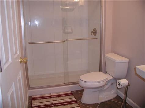 finished bathroom ideas basement remodeling in st louis bathroom design options
