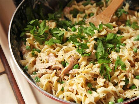 simple tuna noodle casserole recipe easy one pot no knife lighter tuna noodle casserole