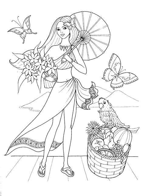 fashion coloring book an coloring book with beautiful and relaxing coloring pages books imagini de colorat fetite desene imagini de colorat