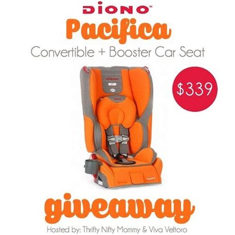 Carseat Giveaway - diono pacifica convertible car seat giveaway