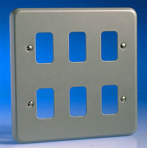 Grid Switch 6 6 alum surface grid plate
