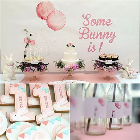 cute rabbit themes first birthday party 12 ideas for the perfect birthday