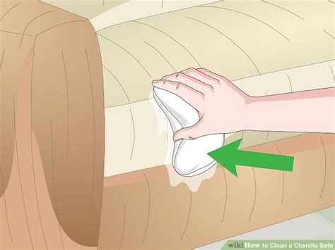 how to clean chenille sofa 3 ways to clean a chenille sofa wikihow