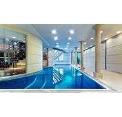 Luxury Swimming Pool In House Design  HD Wallpaper