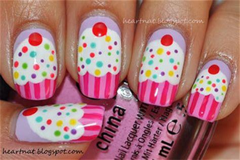 easy birthday nails designs ideas  fabulous nail art designs