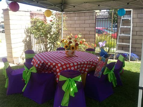 garden tea theme birthday ideas