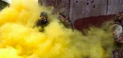 Mustard Gas Suspected Of Mustard Attack On U S Iraqi Troops