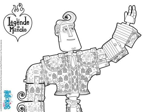 coloring pages the book of life manolo book of life movie coloring pages hellokids com