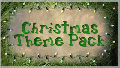 christmas themes pack christmas theme pack choice slides for slide styles