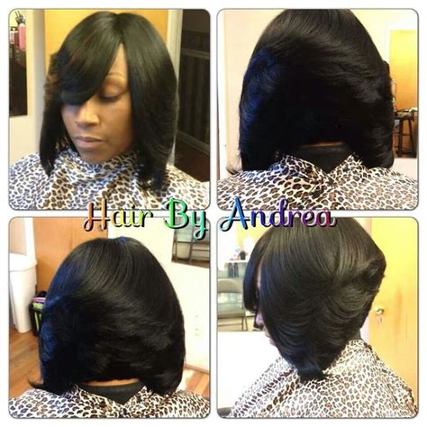 quick weave bob hairstyles quick weave bob hair nails and make up pinterest