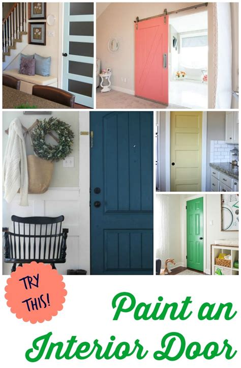 try this 8 colors you can paint an interior door four generations one roof