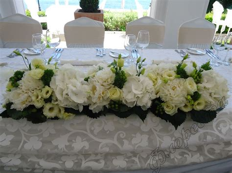 Blue Vases Cheap Flower Wedding Table Decorations Wedding White Table