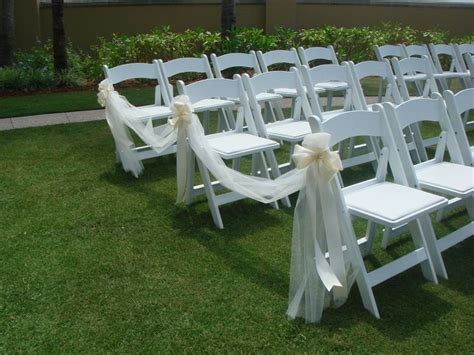 chairs for wedding ceremony 25 best ideas about wedding chair bows on