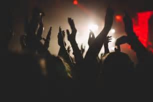 Bench Fashion Show People Enjoying Concert