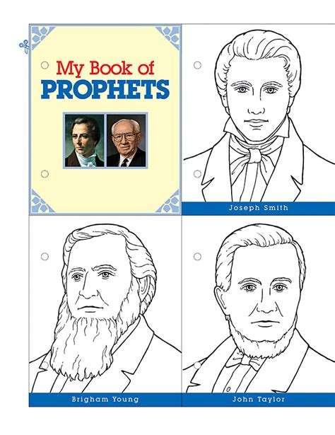 lds coloring pages follow the prophet happy clean living primary 5 lesson 38