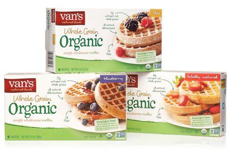 vans 8 whole grains waffles s frozen waffles whole grain organic varieties