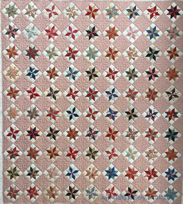 Somerset Patchwork - fabadashery longarm quilting a day quilt somerset