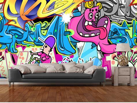 graffiti wallpaper for sale aliexpress com buy custom 3d art wallpaper urban art