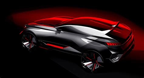 peugeot concept peugeot quartz concept ultra athletic crossover