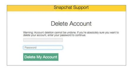 Come Eliminare Un Account Ask by Come Cancellarsi Da Snapchat Uncome