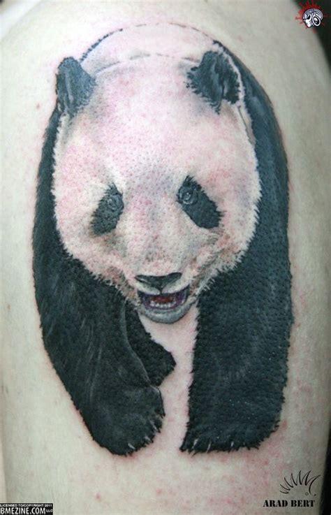 ashley tattoo panda panda tattoos just because and cubs on pinterest