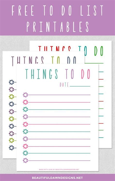 printable to do list pretty 17 best images about calendar planner printables on