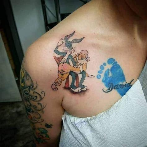 bugs bunny tattoo bugs bunny x post r trashy atbge