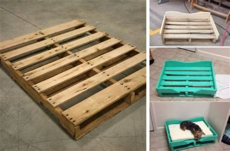 dog bed made out of pallets diy pallet dog bed home design garden architecture