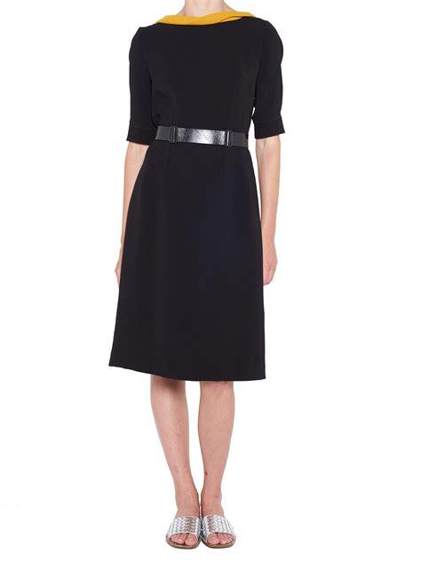 bottega veneta bottega veneta dress black s dresses italist