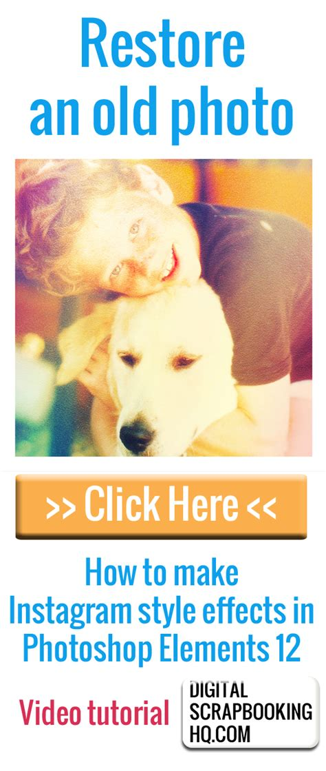 tutorial instagram effect photoshop how to make instagram style effects in photoshop elements