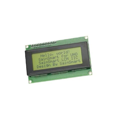 Blue Lcd Display 2004 20x4 20 X 4 Module With I2c Iic Backpack 2004 lcd yellow display anzeigen 20x4 zeichen 5v for