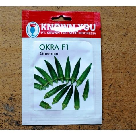 Benih Sayuran Selada Hijau Chris Green Known You Seed Original Pack jual benih okra f1 greennie