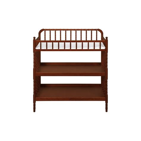 Davinci Jenny Lind Wood Changing Table In Cherry M0302cp Cherry Wood Changing Table