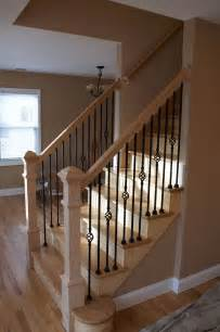 Home Banisters 17 Best Ideas About Wood Stair Railings On