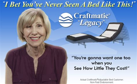 craftmatic beds  pillow rest adjustable beds