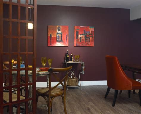 eggplant purple makes rooms rich