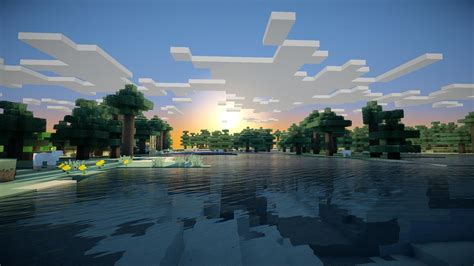 sunrise minecraft wallpapers hd desktop  mobile