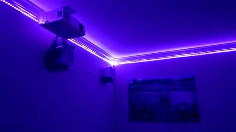 cool lighting for bedroom cool room lights youtube