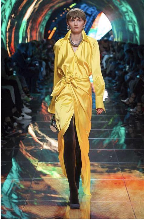 michelle obama yellow michelle obama wears balenciaga spring 2019 yellow dress