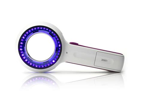 led len lumio uv ultra violet examination led lens