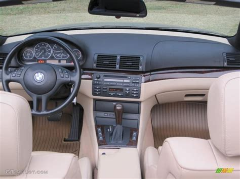 sand interior 2004 bmw 3 series 330i convertible photo